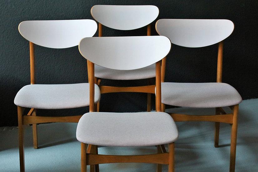 50er/60er Stühle | dunkelrosa