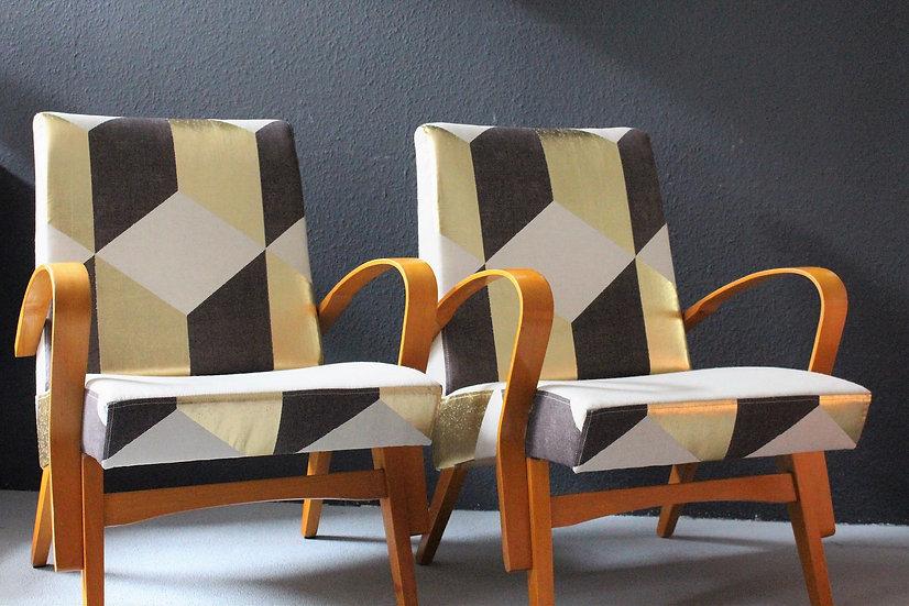 mid-century loungesessel | kubus