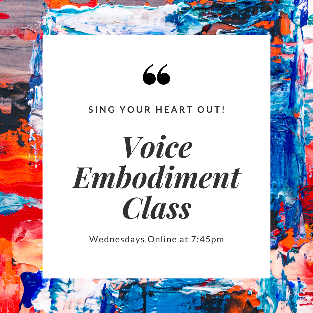 Voice Embodiment WORKSHOP @MoveIt Studio