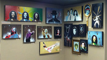 Current art showings and newest work...