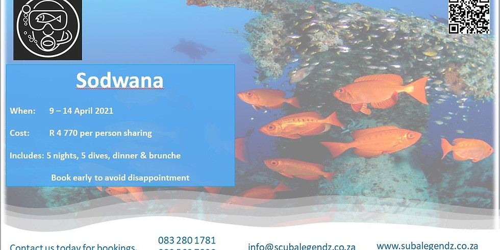 Sodwana Bay April 9th - 14th