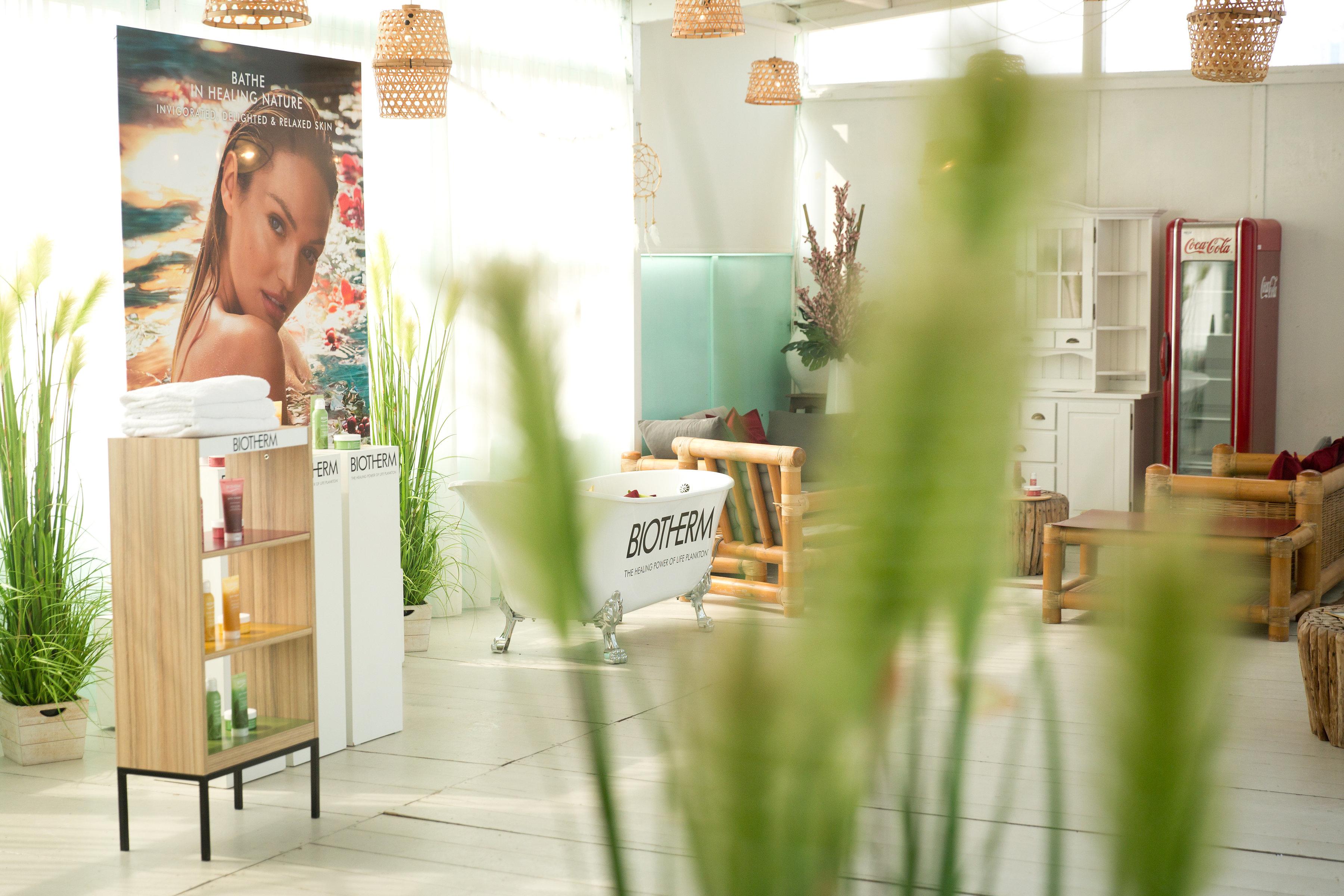 Biotherm summer event Scheveningen