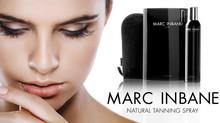 Hoe werkt de Marc Inbane tanning spray uit mijn shop?