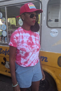 Tie Dye red T-shirt XS
