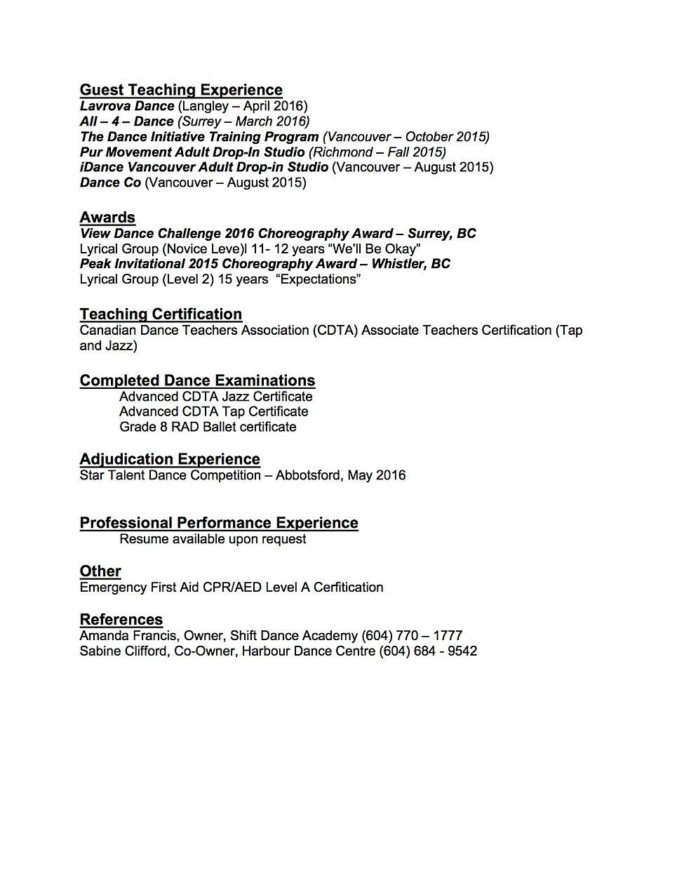 abbey dutton resume