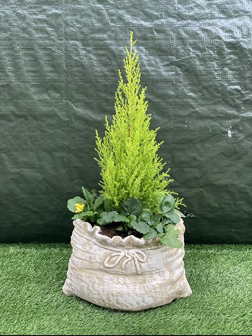 Sack Stone Planter