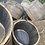Thumbnail: Oak half barrel planter x 2