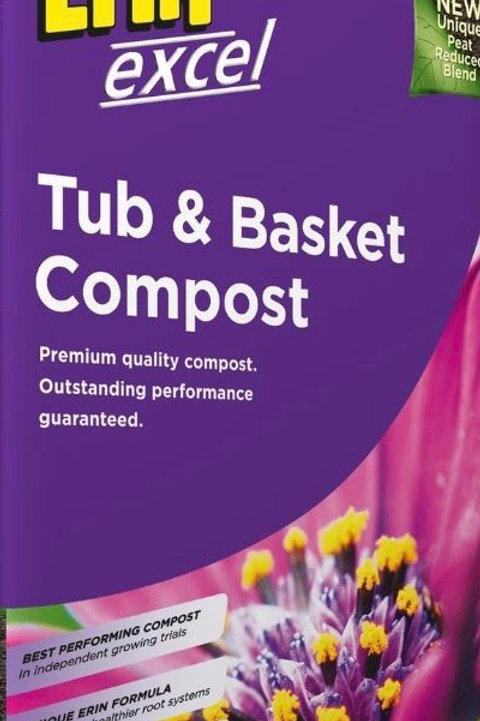 Erin Tub & Basket Compost 50 Litre