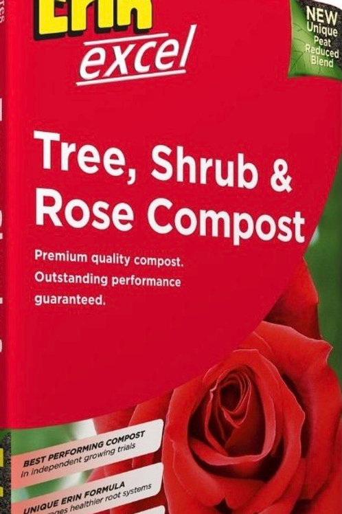 Erin Tree, Shrub & Rose Compost 50 Litre