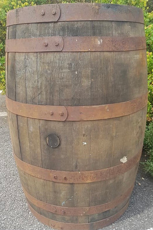 Full Oak Barrel
