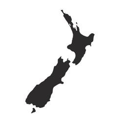 NZ Wall Map