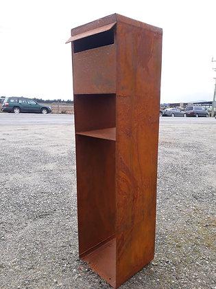 Corten Steel Letterbox