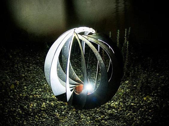 Spiral Garden Spheres