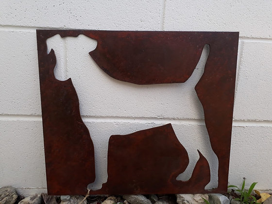 Custom Cut Out - Dog