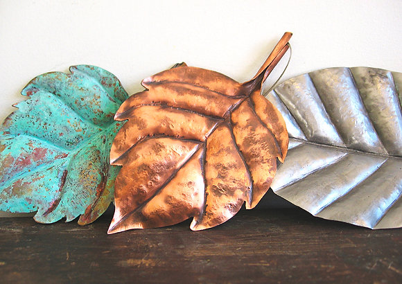"""Autumn Leaves"" Sculpture"