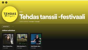 Tehdas tanssii nyt myös Spotifyssa
