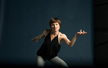 Tanssinopettajien viikonloppu, nykytanssin opettaja Katri Soini, kuva: Paula Kokkonen