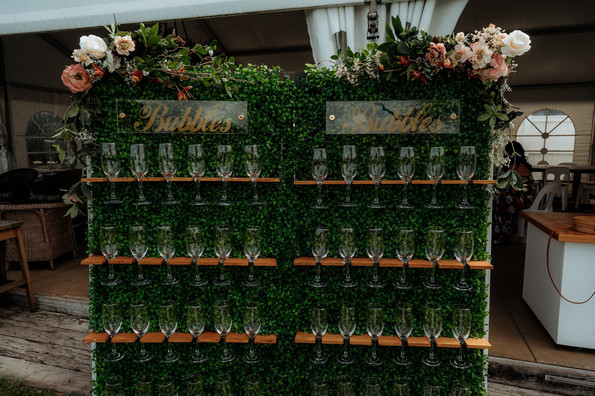 Champagne Wall Hire