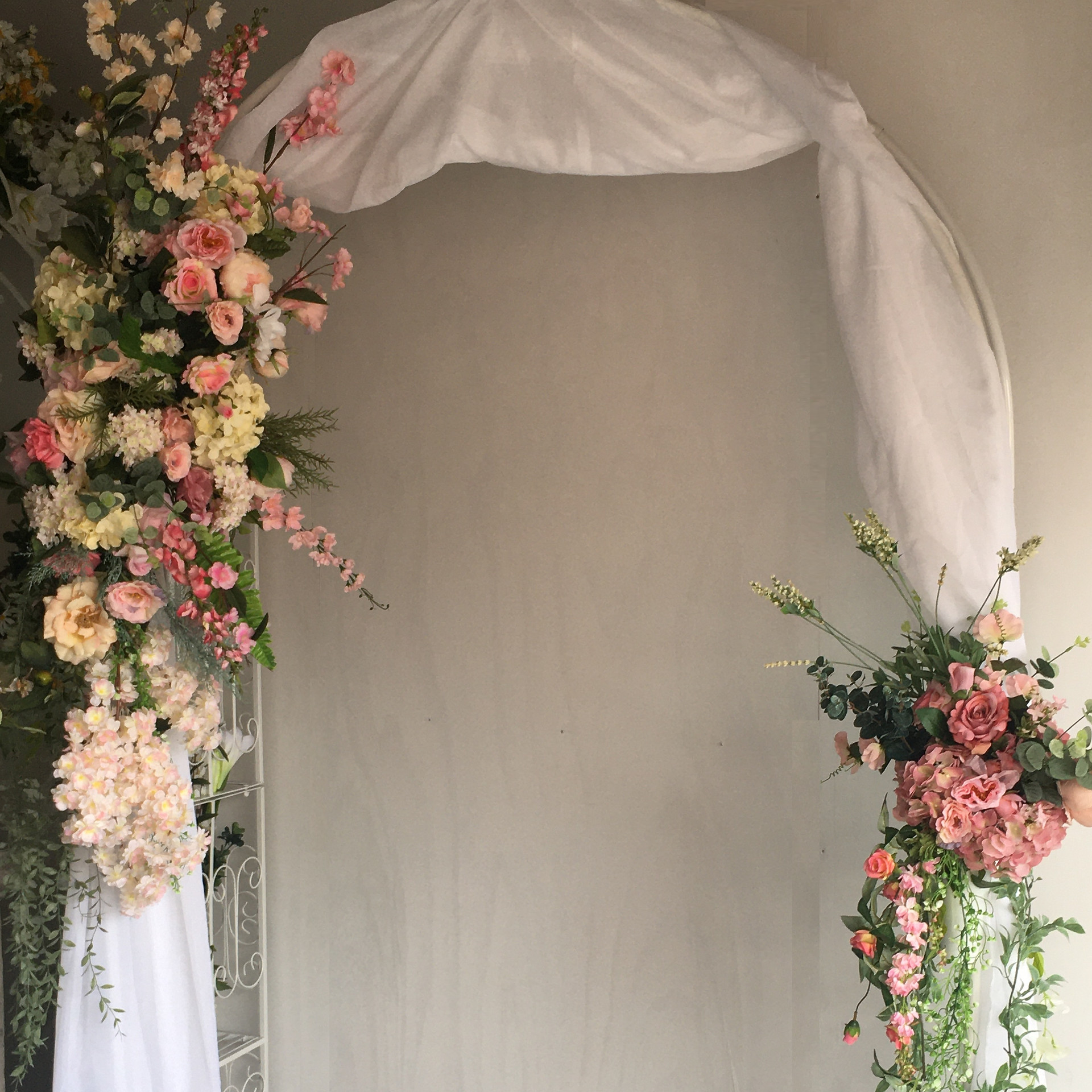 Spring Fling Wedding Arch