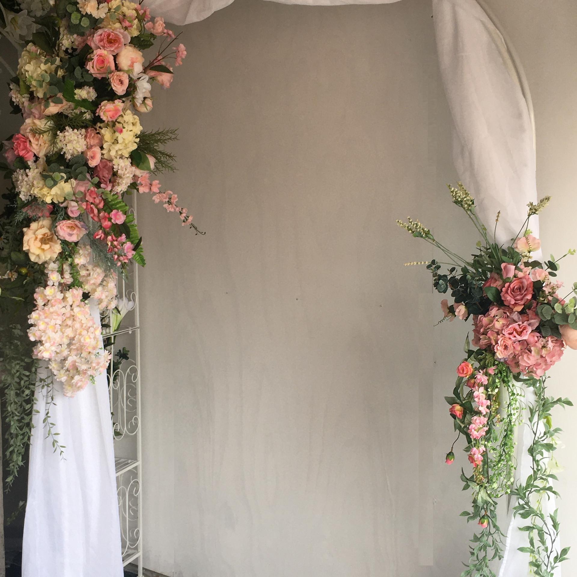 Spring Fling Wedding Arch
