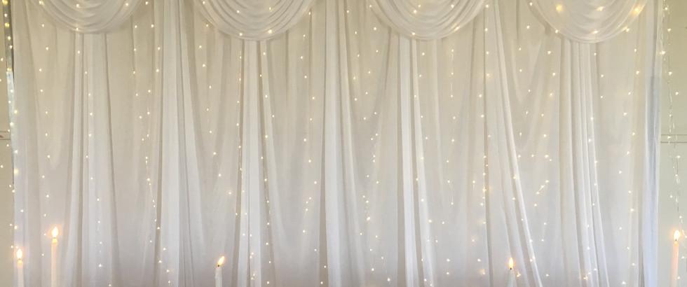 Bridal Party Backdrop