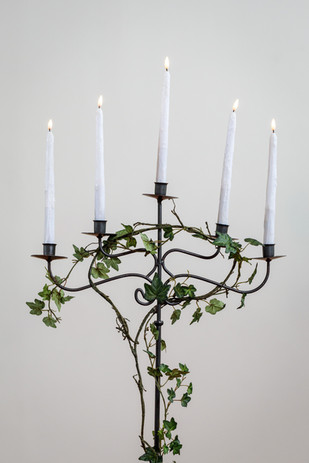 Black candelabra $25