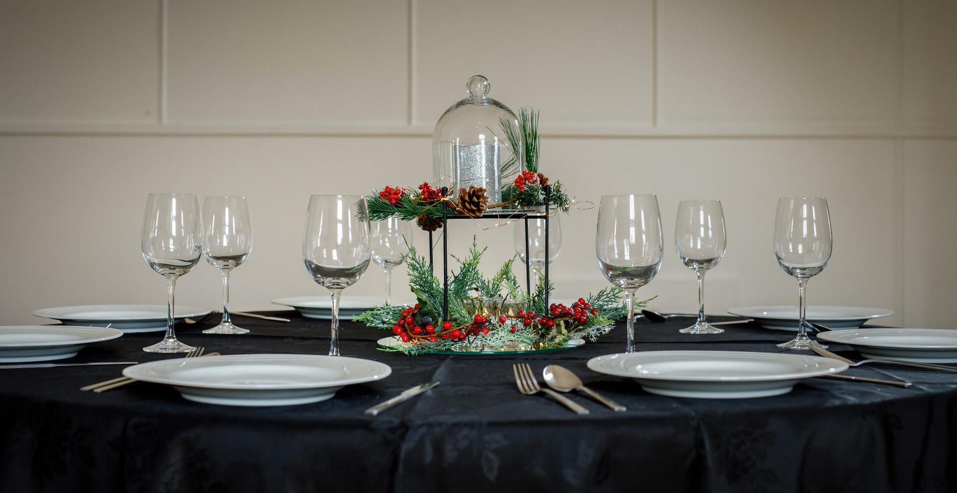 Christmas Table Setting #1