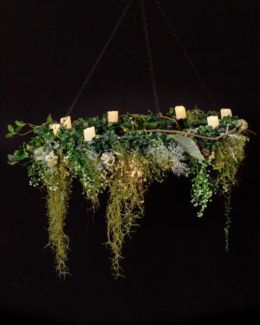 Hanging candelabra  $50
