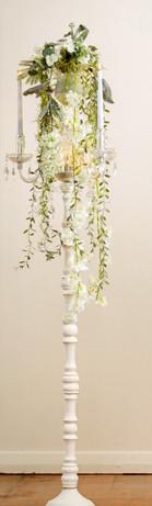 White candelabra  $50