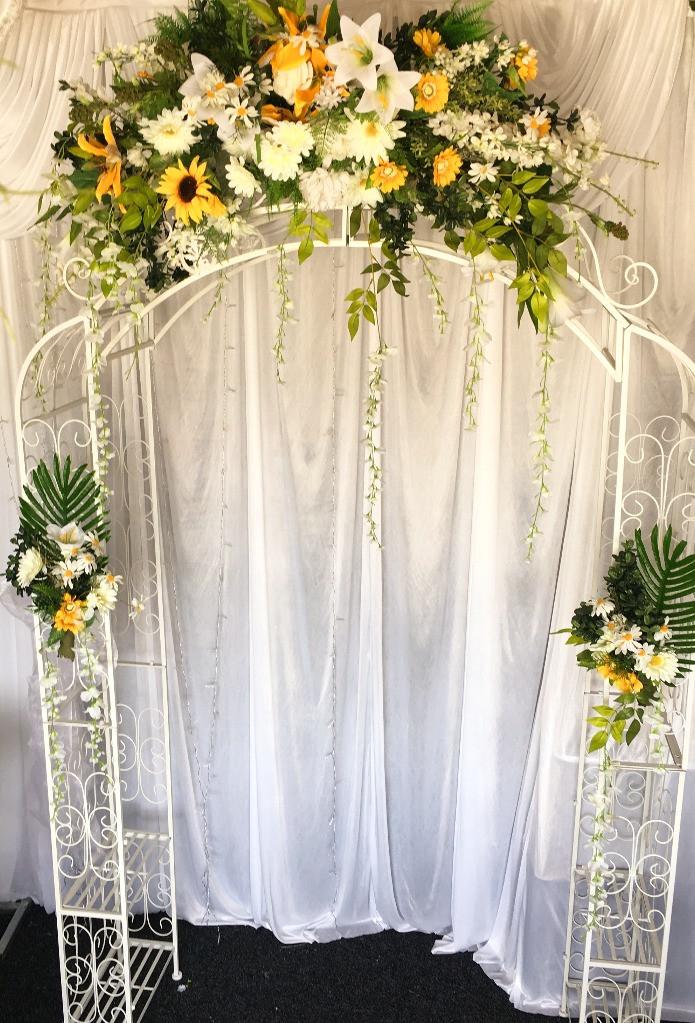 Summer Loving Wedding Arch