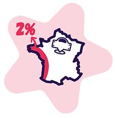 En France, seulement 2% des rues portent un nom de femme.