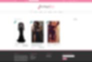 Before screenshot from Boutique Boo / Moda Minx website