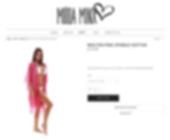 Moda Minx new website with e-commerce photography