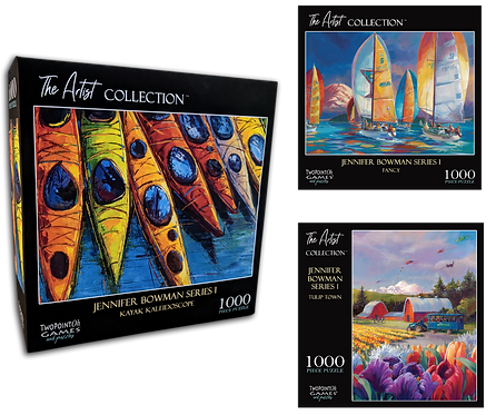 The Artist Collection Puzzle - Jennifer Bowman