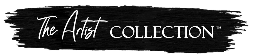The Artist Collection logo long with pai