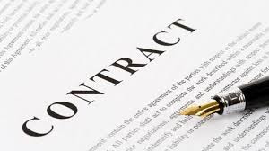 Contract signed