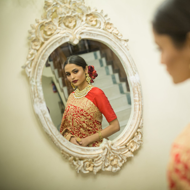 Anaardana Tilla Jaal Saree
