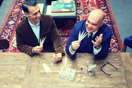 Gregory Cole and Michael Perris, Co-Founders of The Bubble Collection