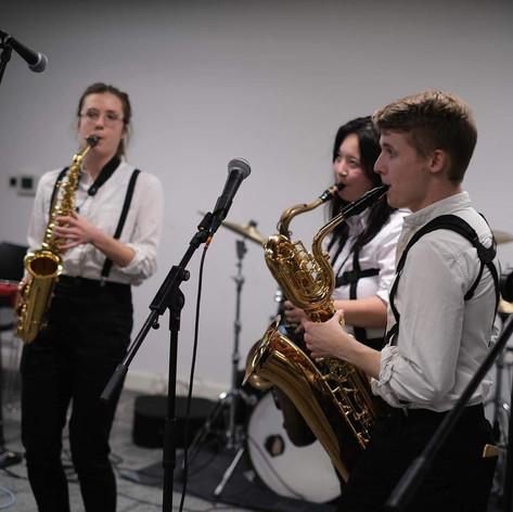 Saxophone Quartet rehearsals