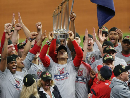 A look back at Game 7 of the 2019 World Series