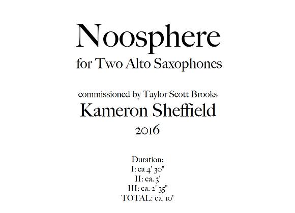 Noosphere, Version for Two Alto Saxophones