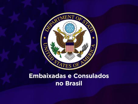 Embaixadas e Consulados USA no Brasil