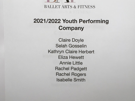 2021/2022 Youth Performing Company