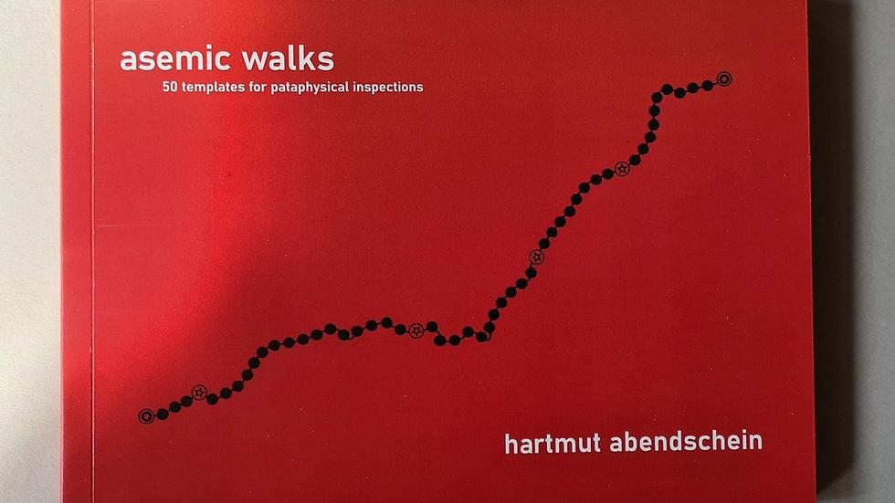 Hartmut Abendschein, Asemic Walks