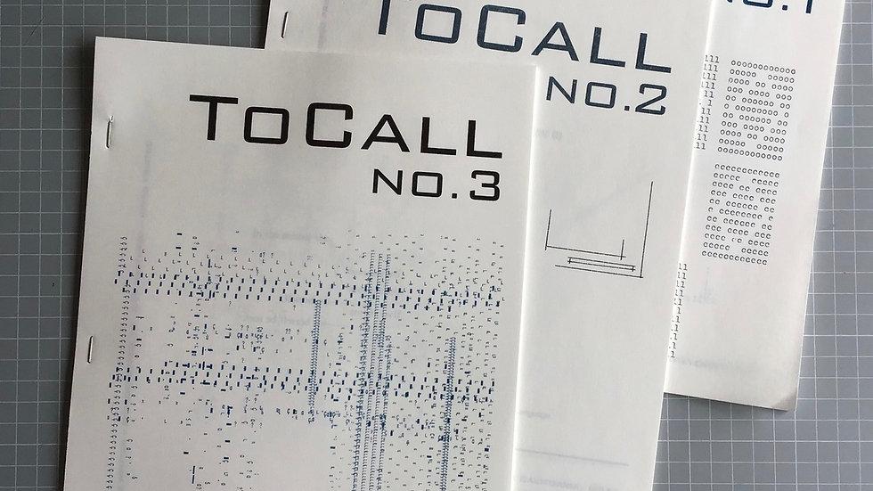 ToCall magazine #3