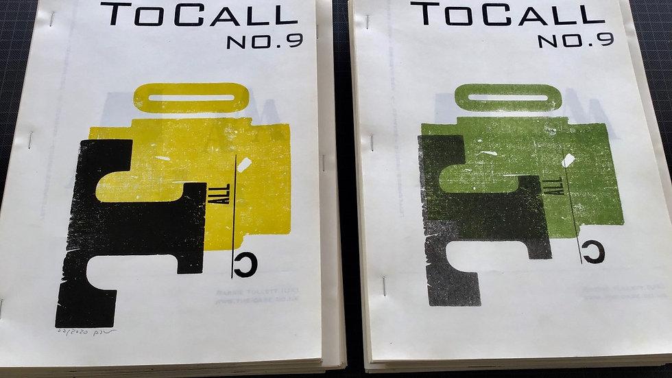 ToCall Magazine #9