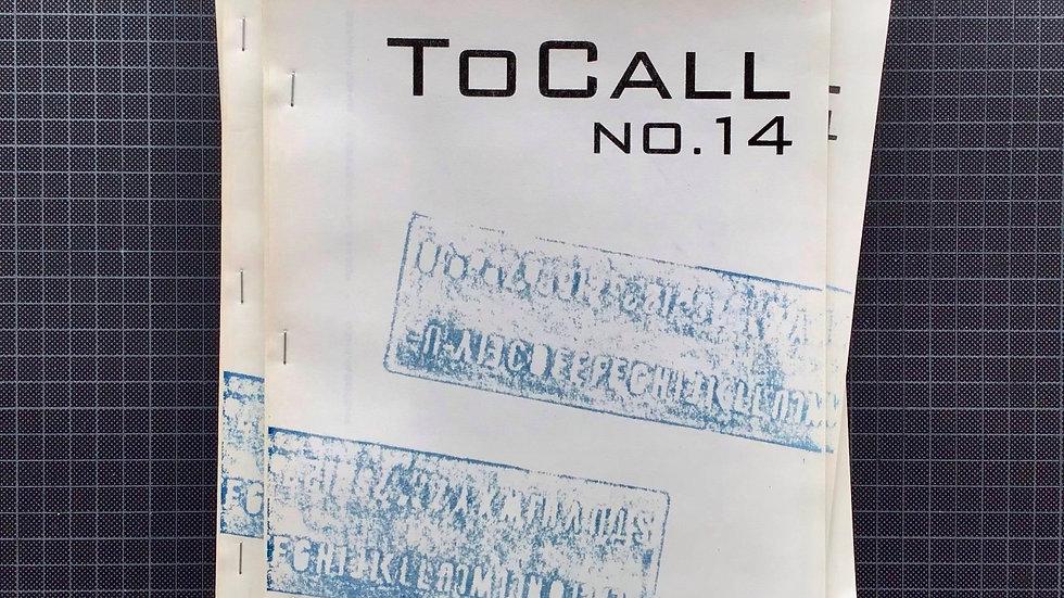 ToCall Magazine #14