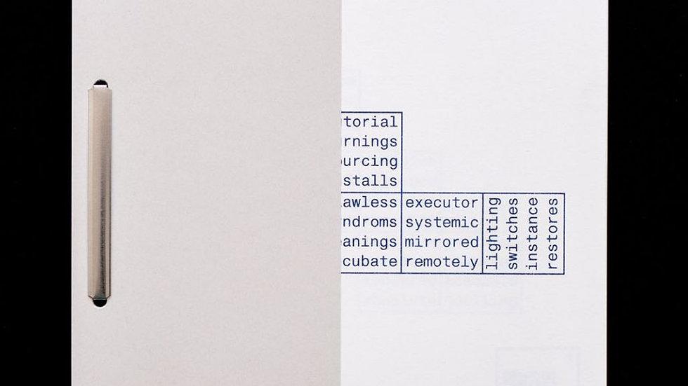 Andreas Bülhoff, Voxel Poems