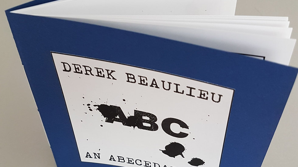 Derek Beaulieu, ABC – An ABeCeDarium