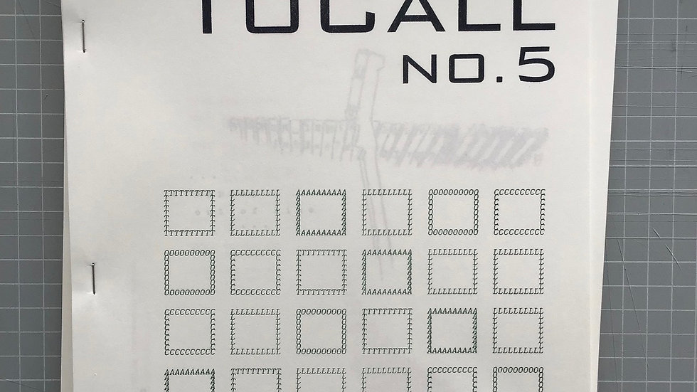 ToCall magazine #5